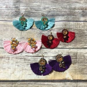 Handmade imported earrings from Mexico 🇲🇽